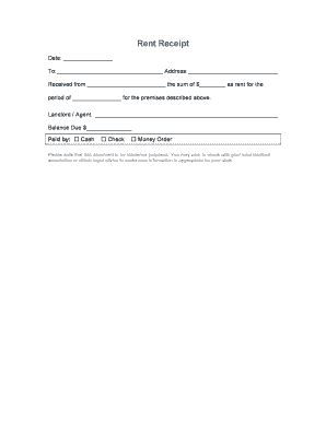 email rent receipt template filling formate of paymet shilap of shg fill