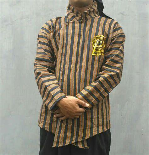 Baju Kemeja Surjan Setelan Dewasa Lurik Batik Jawa Pa Limited jual baju surjan dewasa grosiran sandang jaya