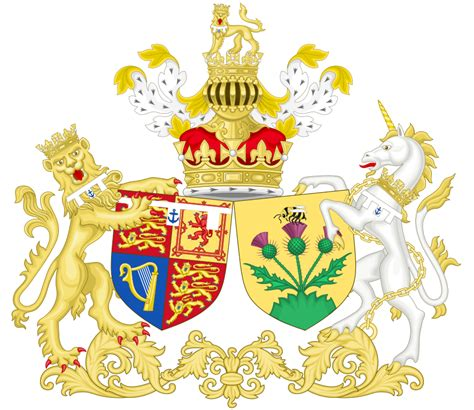 sarah duchess of york wikipedia the free encyclopedia file combined coat of arms of andrew and sarah the duke