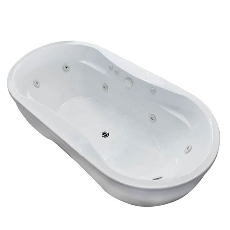 6 ft bathtubs universal tubs jetted bathtubs agate 6 ft whirlpool tub in wh