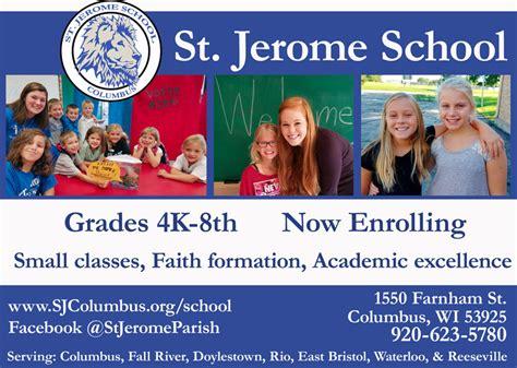 open house ad st jerome school 187 open house november 21