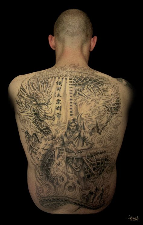 tattoo designs back pieces best tatto design back japanese