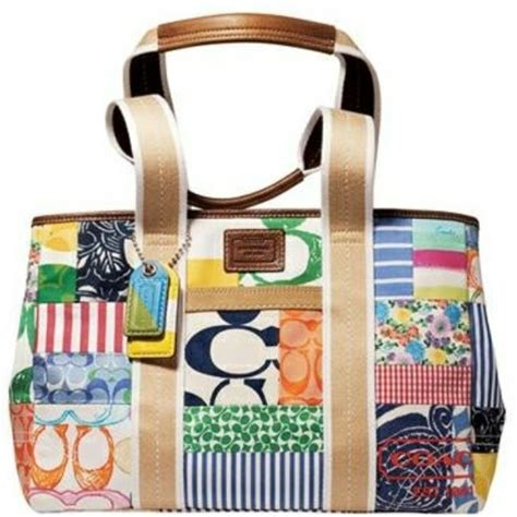 Coach Patchwork Handbag - 70 coach handbags authentic coach patchwork