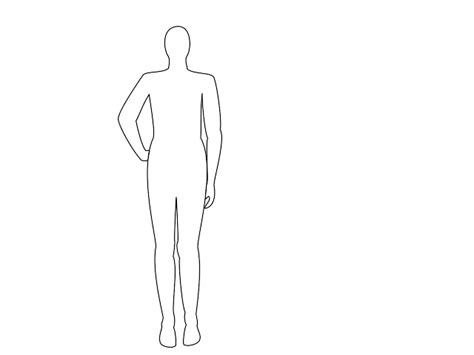 coloring pages person outline person outline coloring page cliparts co