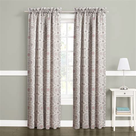 sears curtains blackout 54x63 blackout curtain panel get peace and privacy from