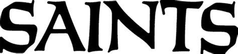 Kaos Football New Orleans Saints Wordmark Logo 1985 Pres new orleans saints 1985 pres wordmark logo letter number
