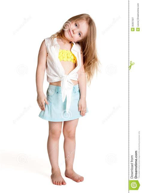 young girl short dress stock photos images pictures little girl wearing blue skirt stock image image 35357327