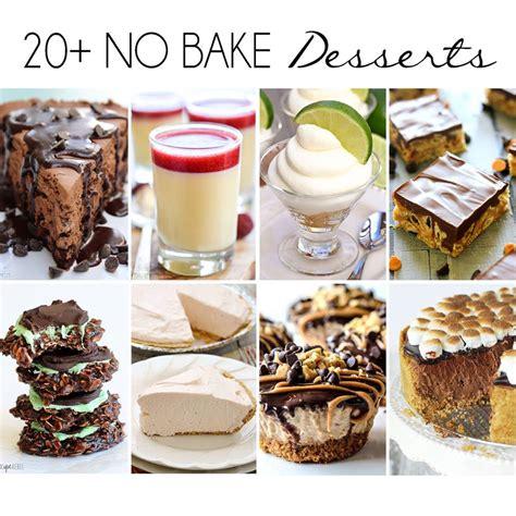 20 no bake desserts cravings of a lunatic