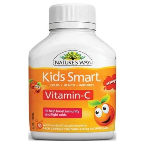 Nature S Way Smart Vita Gummies Vitamin C Zinc 1 nature s way smart vita gummies vitamin c zinc 60