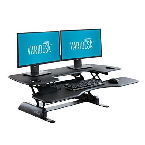 varidesk pro desk 48 varidesk height adjustable standing desk pro plus 48