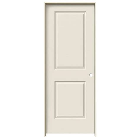Single Panel Interior Doors Shop Reliabilt 2 Panel Square Single Prehung Interior Door Common 30 In X 80 In Actual 31
