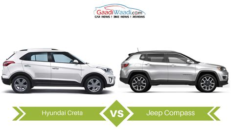 jeep hyundai jeep compass vs hyundai creta specs comparison