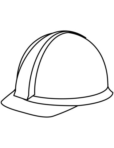 coloring pictures of hard hats hard hat coloring page free printable coloring pages