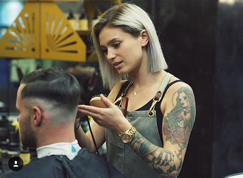 female barbershop haircut the barber national association and barbers on pinterest