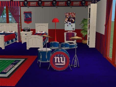 ny giants bedroom mod the sims newyork giants bedroom my favorite team