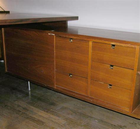 herman miller l shaped desk george nelson l shaped walnut executive desk herman miller