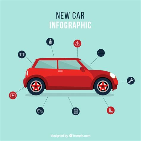 vehicle vector templates car presentation template vector free
