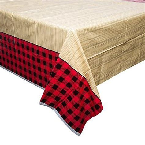 buffalo plaid table cover best 25 plastic table covers ideas on plastic