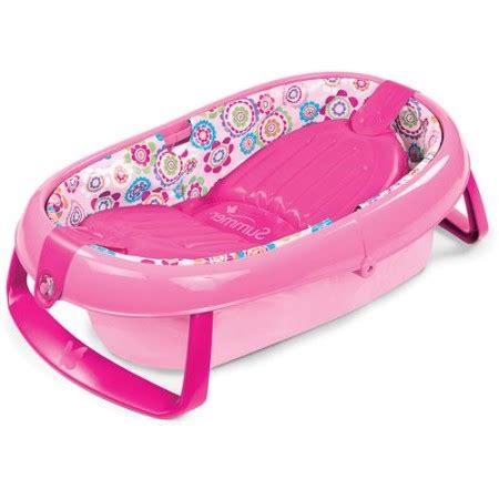 Summer Infant Easy Store Comfort Tub Pink summer infant easystore comfort tub walmart