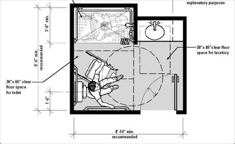 Accessible Bathroom Floor Plans by Handicap Bathroom Plans Quotes