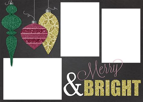christmas photo card template christmas lights decoration