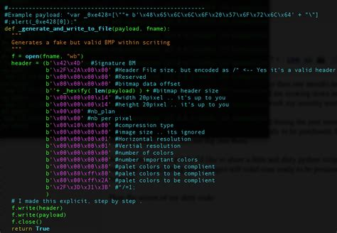 javascript pattern code marco ramilli s blog hacking through images