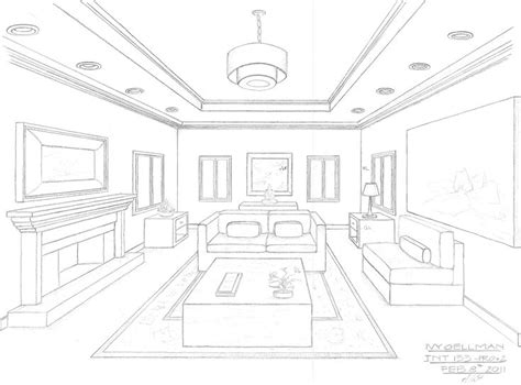 1 Point Perspective Room - 10 best images about one point perspective room on