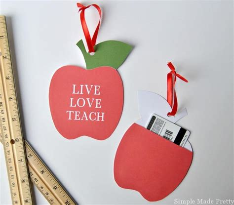 printable apple gift cards free printable apple ornament with gift card holder