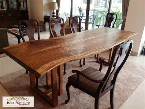 Set Meja Makan Kayu set meja makan kayu rustic terbaru indonesia furniture teak furniture manufacturer
