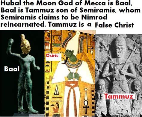Counterfeit Gods Allah Allah Palsu mystery babylon who is allah