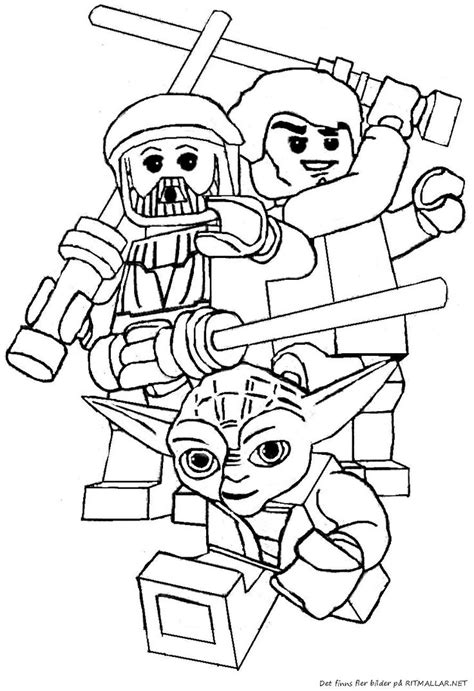 coloring pages wars lego 41 best images about lego coloring pages on