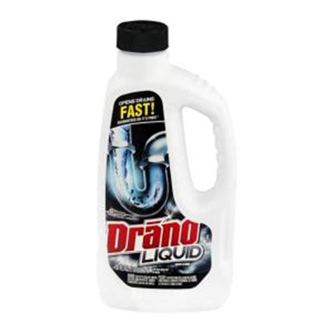 drano 32 oz liquid drain cleaner 12 pack 00116 the