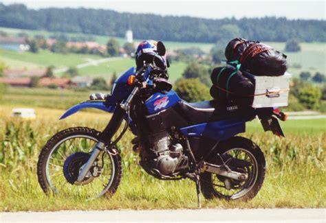Yamaha Motorräder 600 by Mit Der Yamaha Xt 600 Im Urlaub Gewerbliche