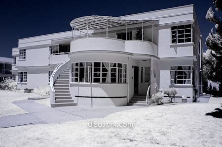 Modern Deco Architecture Deco Streamline Moderne Houses Cool Architecture