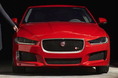 jaguar front 2016 jaguar xe front end shown confirms s model