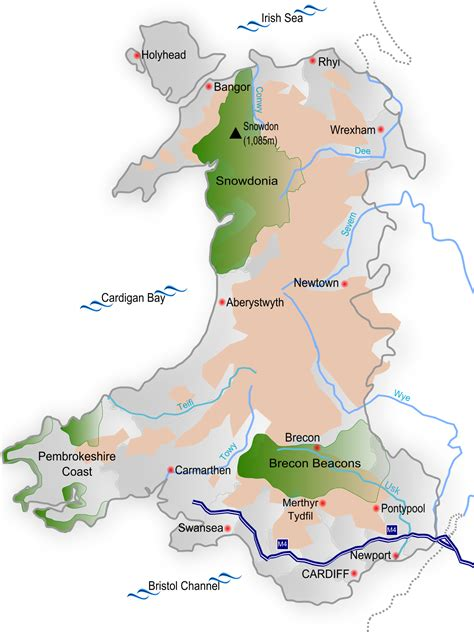 map of wales biodiversity of wales