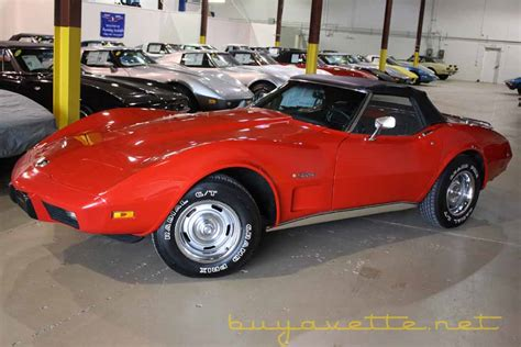 1975 Corvette L82 Convertible For Sale At Buyavette 174 Atlanta 1975 Corvette Convertible For Sale