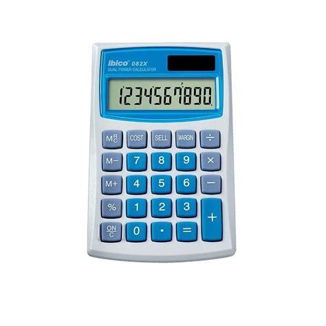 calculatrice bureau calculatrice poche 10 chiffres ibico 082x bureautique