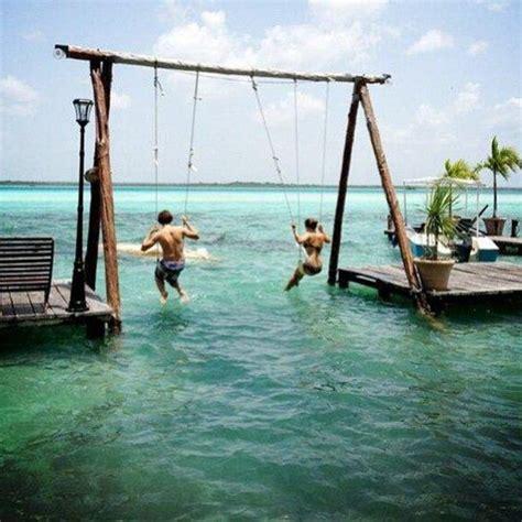 Swing Set Over The Water Honeymoon Destinations