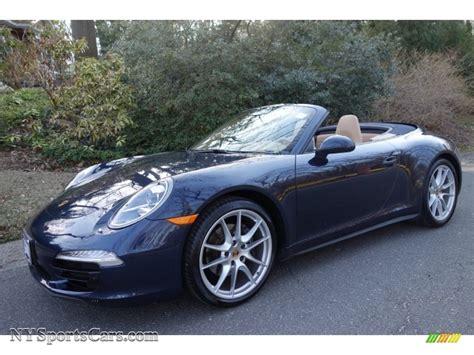 porsche dark blue 2013 porsche 911 carrera cabriolet in dark blue metallic
