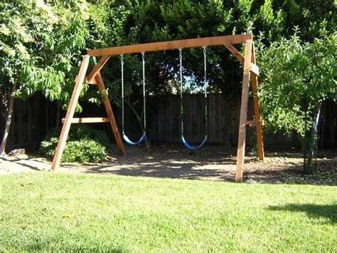 swing set kits and plans 1000 ideas about wooden swing set kits on pinterest
