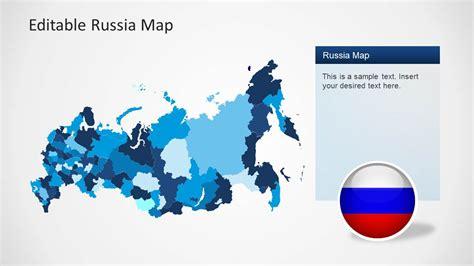 editable russia map template  powerpoint slidemodel