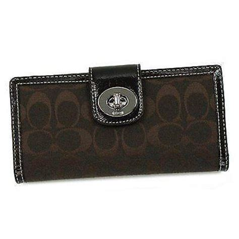 Coach Wallet For By Bagladies womens coach checkbook wallet ebay
