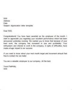 Pics photos appreciation letter sample appreciation letter topic