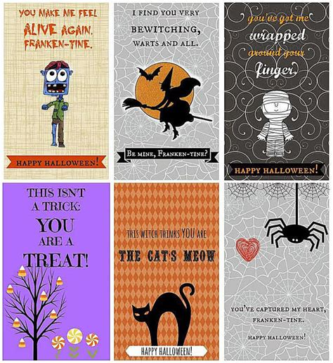 printable halloween postcards 7 free printable halloween cards