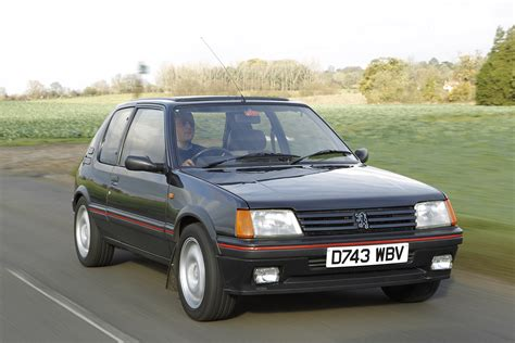 peugeot history history of the peugeot 205 gti picture special