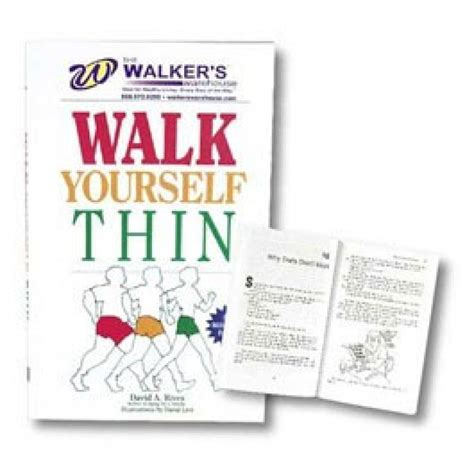 on thin books walk yourself thin book source
