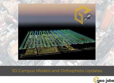 geo jobe uav services producing 3d campus models and