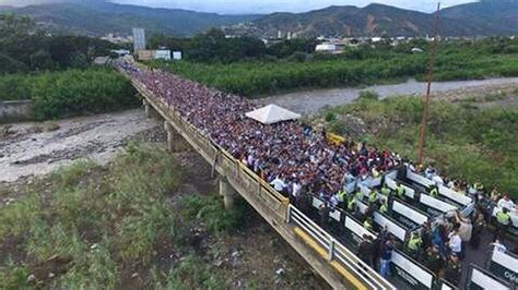 imagenes venezuela colombia vea en im 225 genes c 243 mo fue flujo de venezolanos a colombia