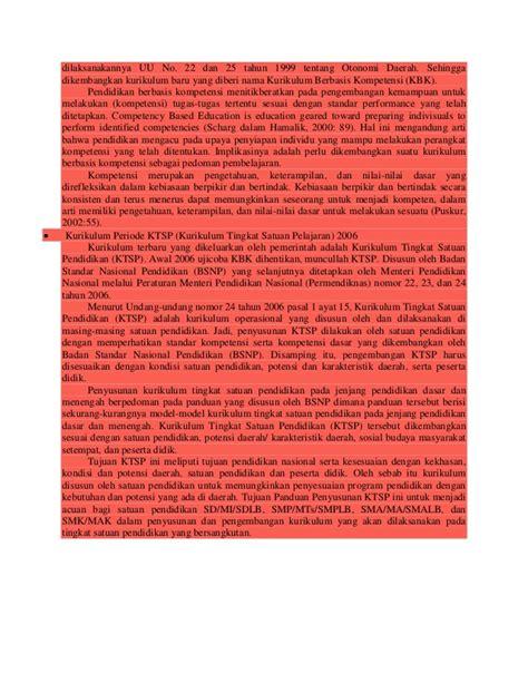 Rosda Kurikulum Yang Disempurnakan Pengembangan Standar Kompetensi Sejarah Perkembangan Kurikulum Pendidikan Di Indonesia
